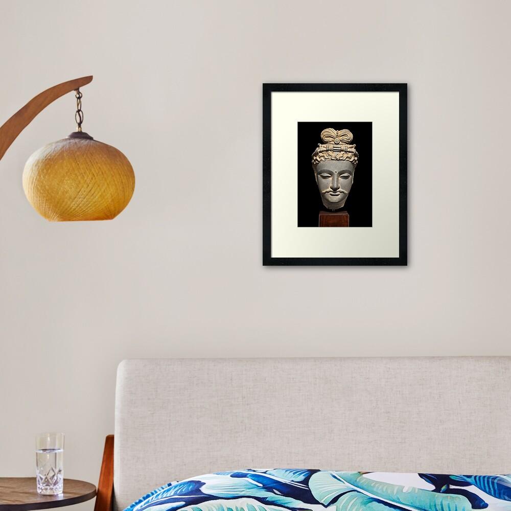 Gandhara A Framed Art Print