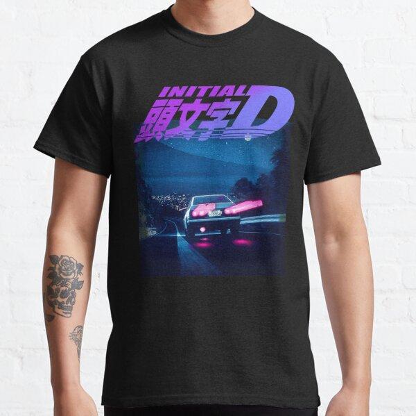 Initial D Neon AE86 Classic T-Shirt