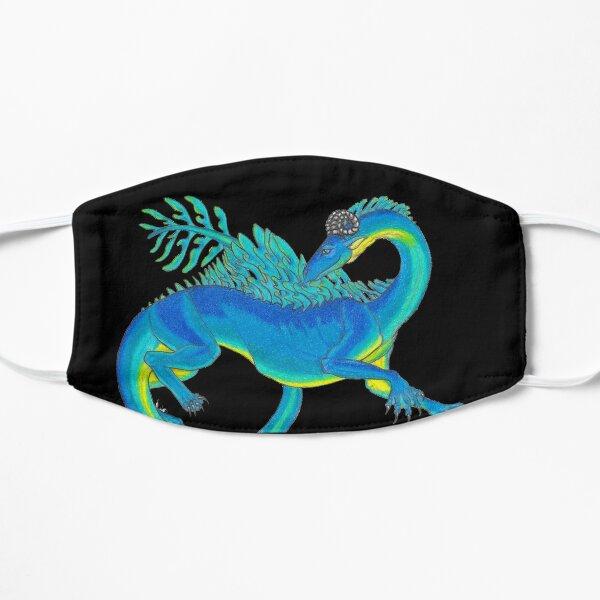 Blue Sea Dragon Flat Mask