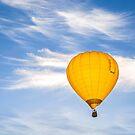 Yellow Balloon Sunrise Flight - Martinborough, NZ by SeeOneSoul