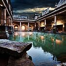 Roman Bath house.  by Larrikin  Photography