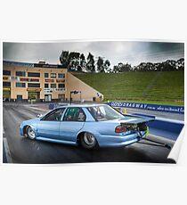 Michael Ryan's EB Falcon Drag Car Poster