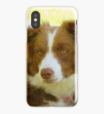 Agility & Intensity Are My Middle Names!! - Border Collie - NZ iPhone Case/Skin