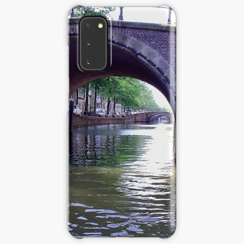 Amsterdam Canal Samsung Galaxy Phone Case