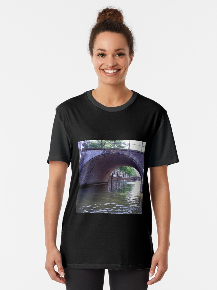 Alternate view of Amsterdam Canal Graphic T-Shirt