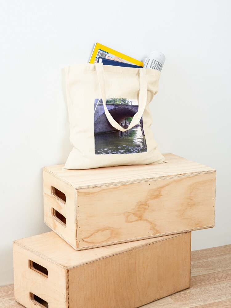 Alternate view of Amsterdam Canal Tote Bag