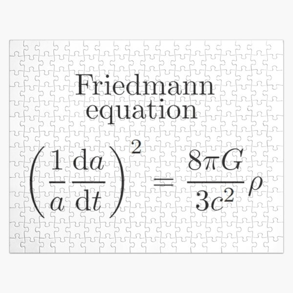 Friedmann Equation -  Physics, Cosmology, Astrophysics Jigsaw Puzzle
