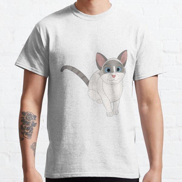 Cartoony Cat Illustration  Classic T-Shirt