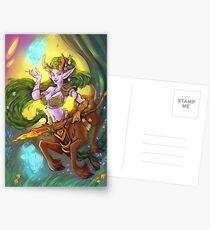 Lunara of the Storm Postcards