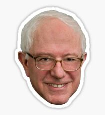 Bernie Sanders' Face Sticker