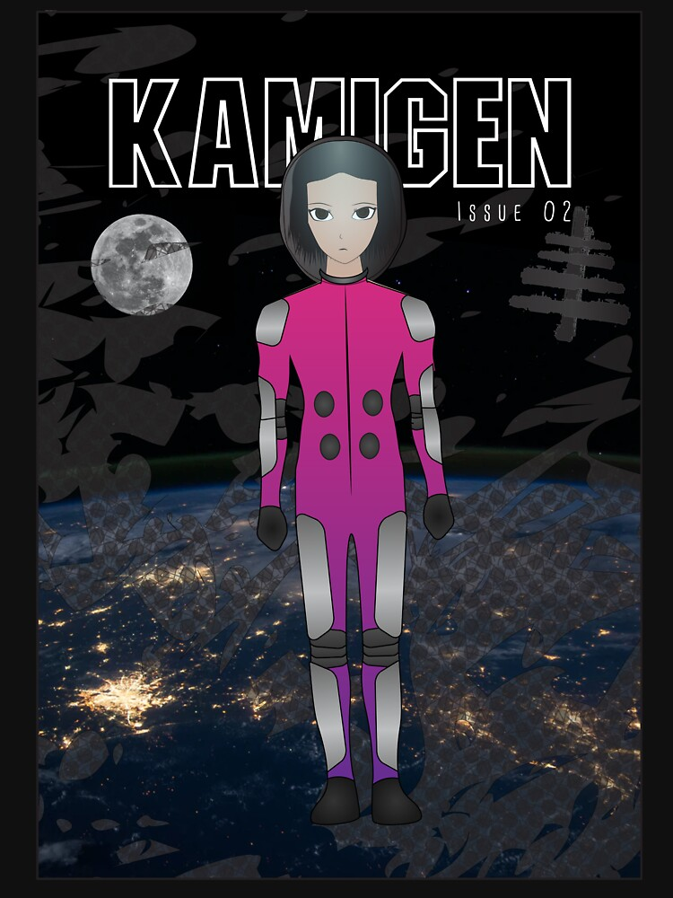 Kamigen Issue 2 Cover by openstudios