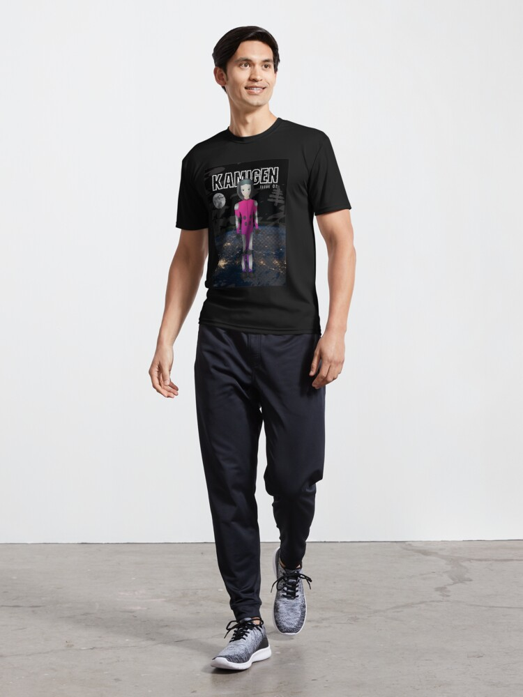 Alternate view of Kamigen Issue 2 Cover Active T-Shirt