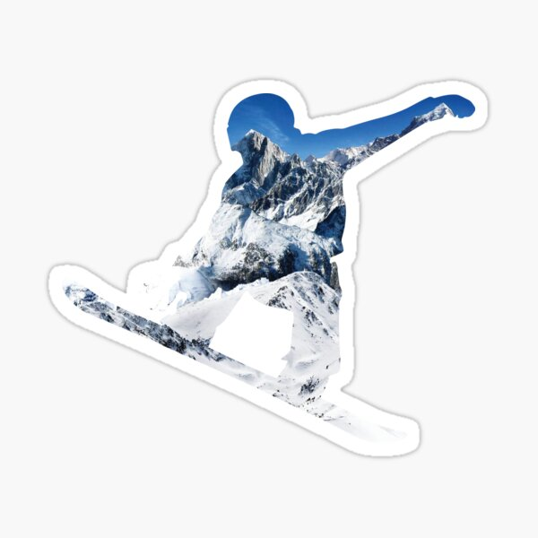 Snowboard Sticker