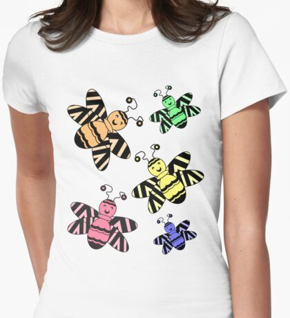 Colorful Bees T-Shirt
