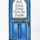 Art Opens Doors by Parnilla