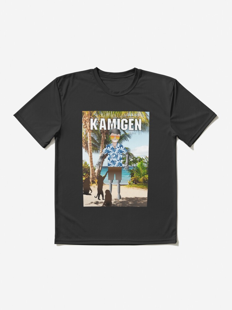Alternate view of Kamigen Issue 1 Cover Active T-Shirt