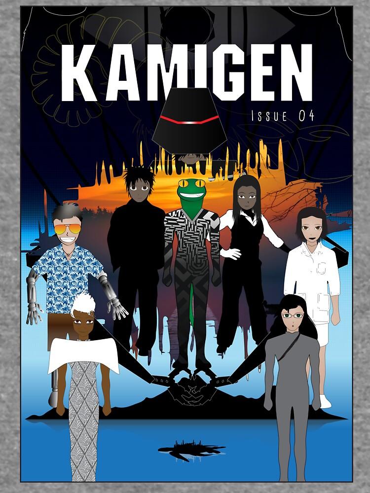 Kamigen Issue 4 Cover by openstudios