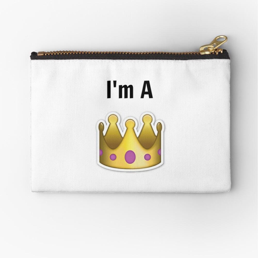 Ich bin eine Königin Täschchen
