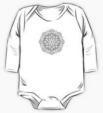 Flower and Flame Mandala One Piece - Long Sleeve