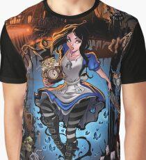 Alice In Wonderland  Graphic T-Shirt