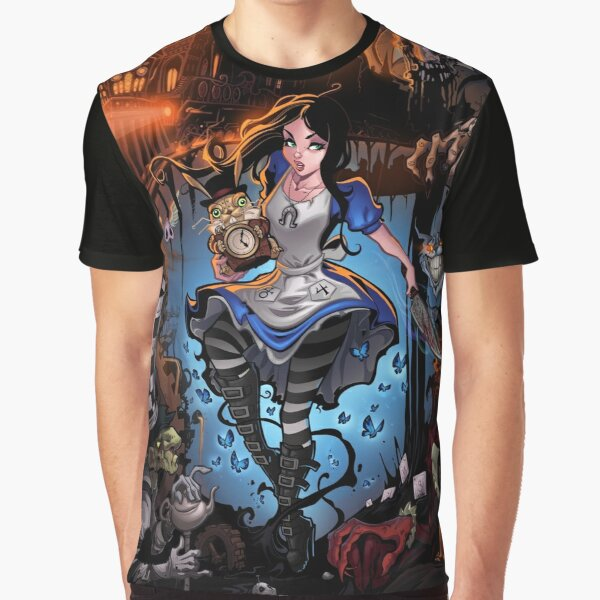 Alice In Wonderland  Graphic T-Shirt