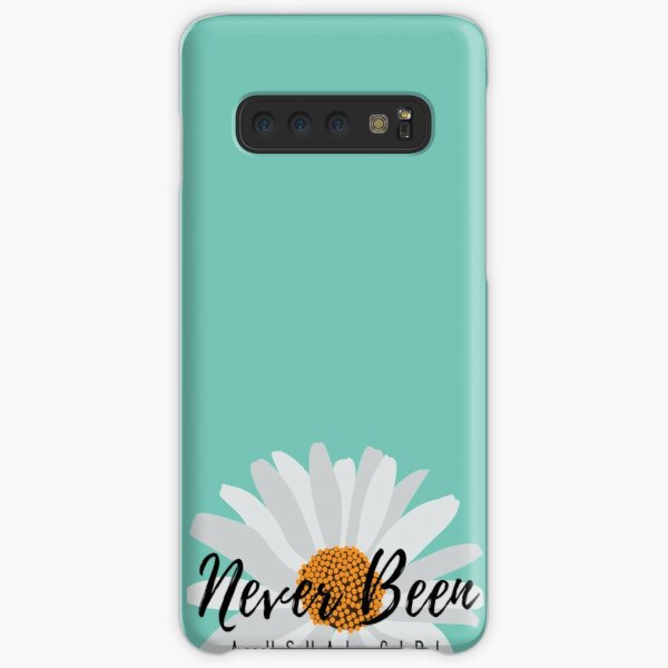 Never Been a Usual Girl Vector Girl Sunflowerl-gift for Girlfriend Gift for Sister sunflower  Samsung Galaxy Snap Case