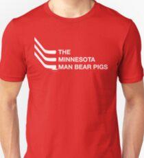 The Minnesota Man Bear Pigs Unisex T-Shirt