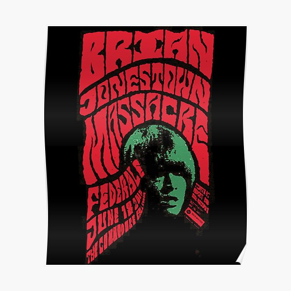 The Brian Jonestown Massacre Poster