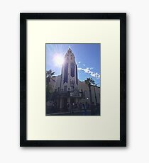Carthay Circle Framed Print