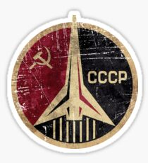 Pegatina CCCP Rocket Emblem