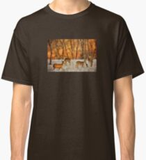 Creatures Of A Winter Sunset Classic T-Shirt