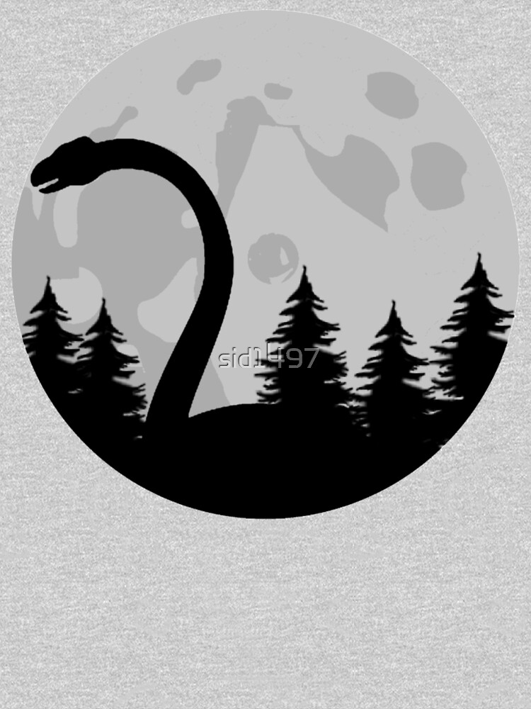 Loch Ness monster silhouette  by sid1497