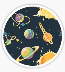 Space Oddities Sticker