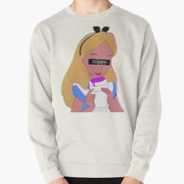 Trippy Alice Pullover Sweatshirt