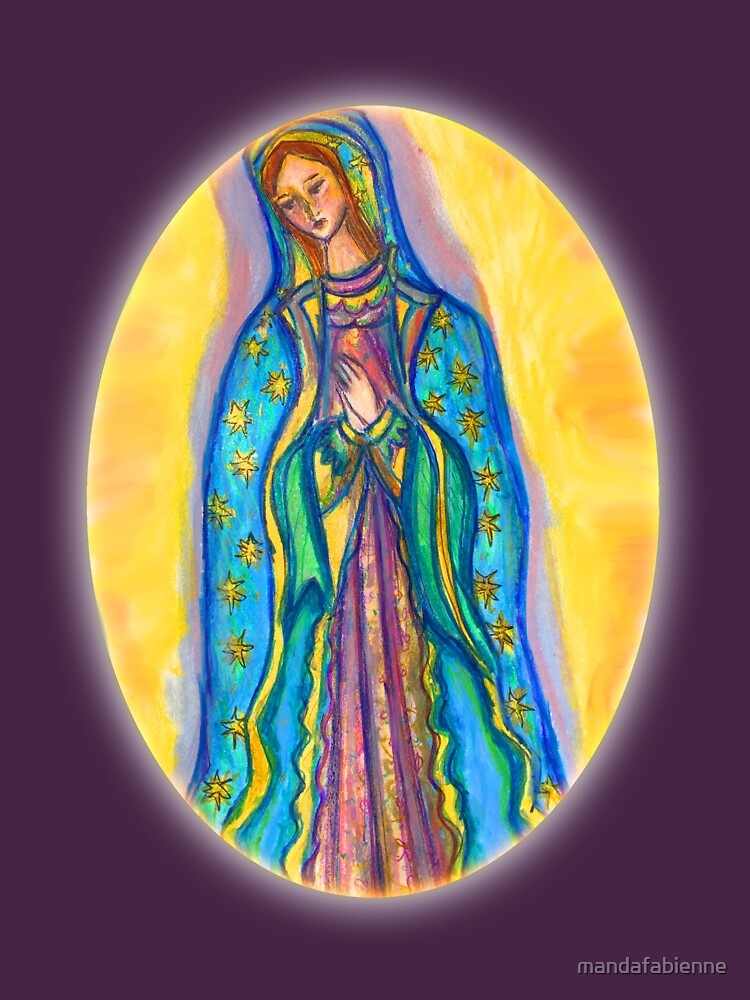 Virgin Mary by mandafabienne