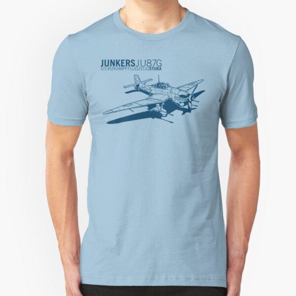 Stuka Tank Buster Slim Fit T-Shirt