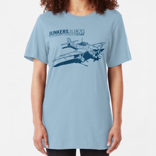 Stuka Tank Buster Slim Fit T-Shirt