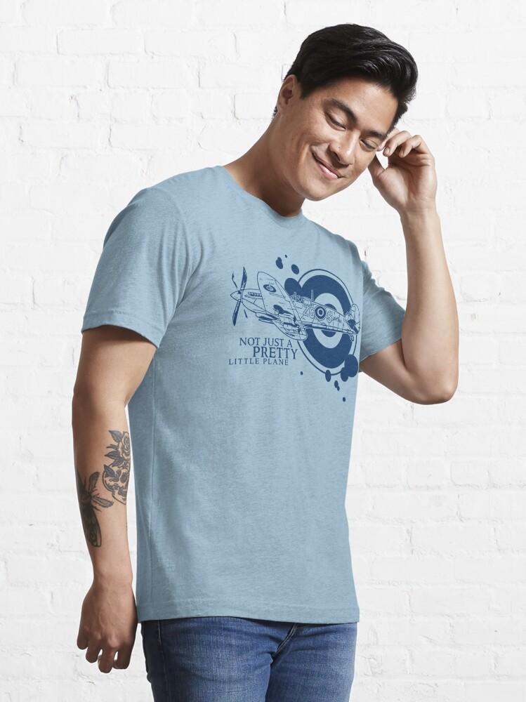 Alternate view of Supermarine Spitfire Essential T-Shirt