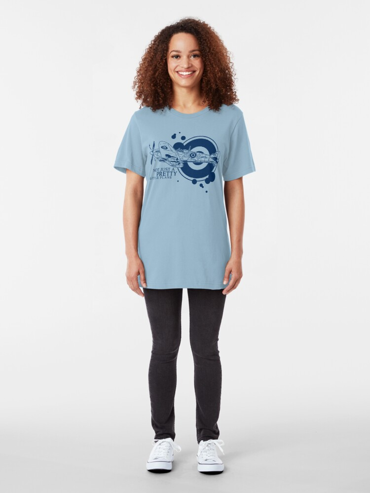 Alternate view of Supermarine Spitfire Slim Fit T-Shirt