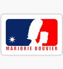 Marjorie Bouvier Sticker
