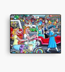The Parade Canvas Print