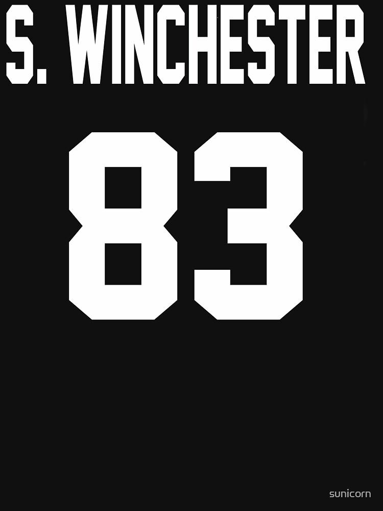 Supernatural Jersey (Sam Winchester) | Unisex T-Shirt