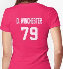 Supernatural Jersey (Dean Winchester) Womens Fitted T-Shirt