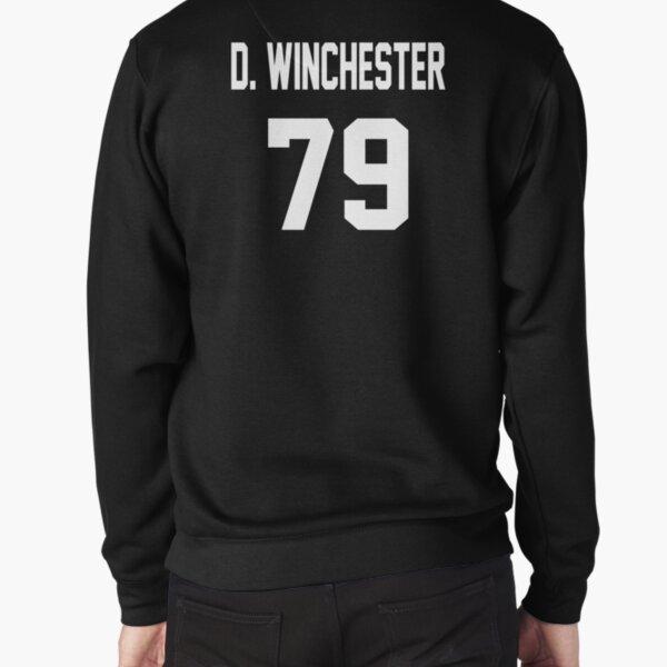 Supernatural Jersey (Dean Winchester) Pullover Sweatshirt