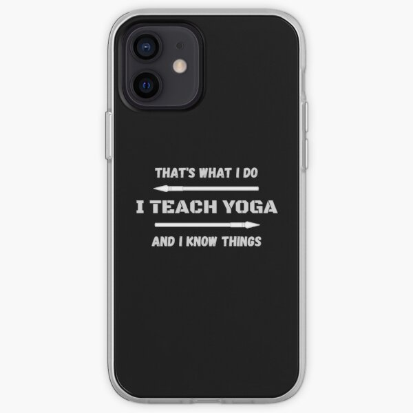 That's What I Do iPhone Soft Case