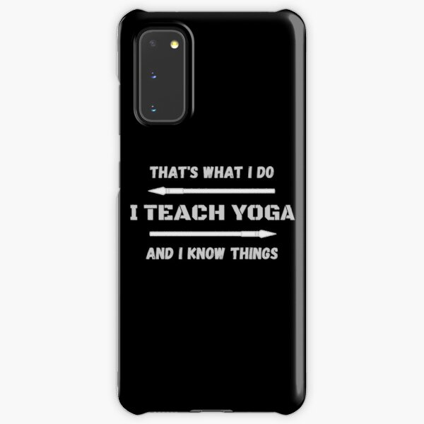That's What I Do Samsung Galaxy Snap Case