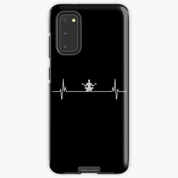 Heartbeat Yoga Samsung Galaxy Tough Case