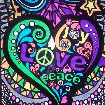 Mosaic of Peace & Love by jtarts1985