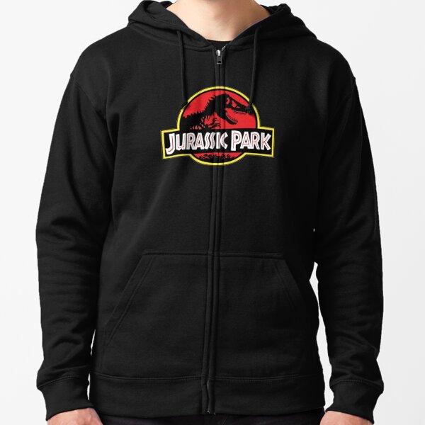 Jurassic Park Zipped Hoodie