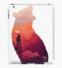 I will Rise iPad Case/Skin